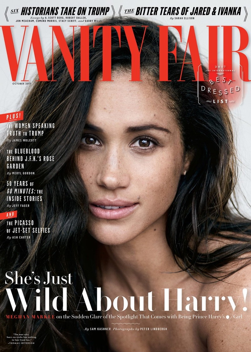 Меган Маркл в Vanity Fair (6 фото)