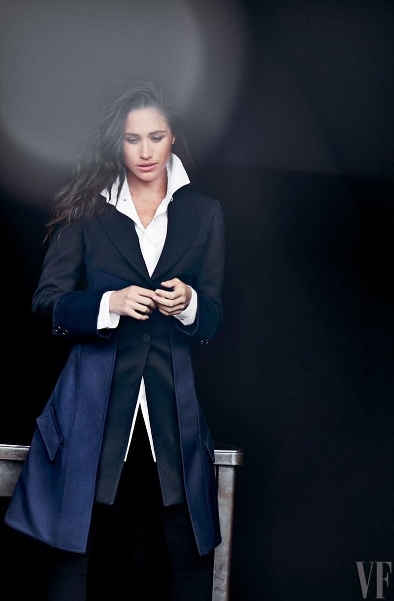 Меган Маркл в Vanity Fair