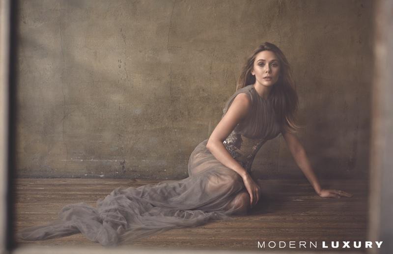 Элизабет Олсен в Modern Luxury