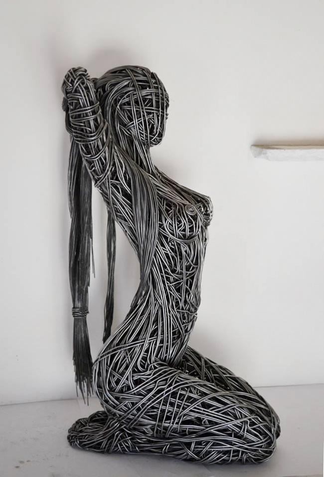 Скульптуры, которые слишком прекрасны для нашего мира (11 фото)