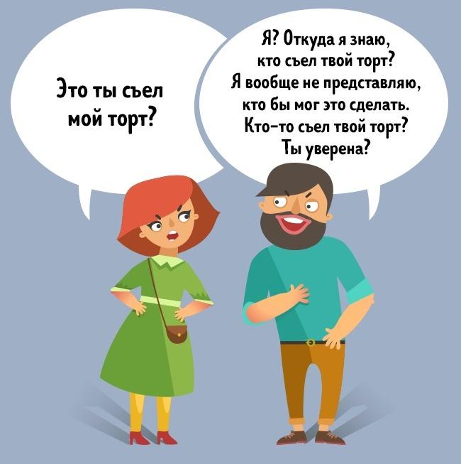 © depositphotos     Многократное повторение собеседником вашего вопроса свидетельствуют о