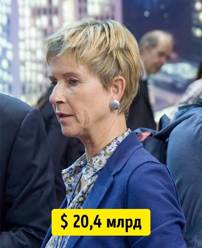 © en.wikipedia.org     Самая обеспеченная женщина Германии Сьюзан Клаттен унаследовала от