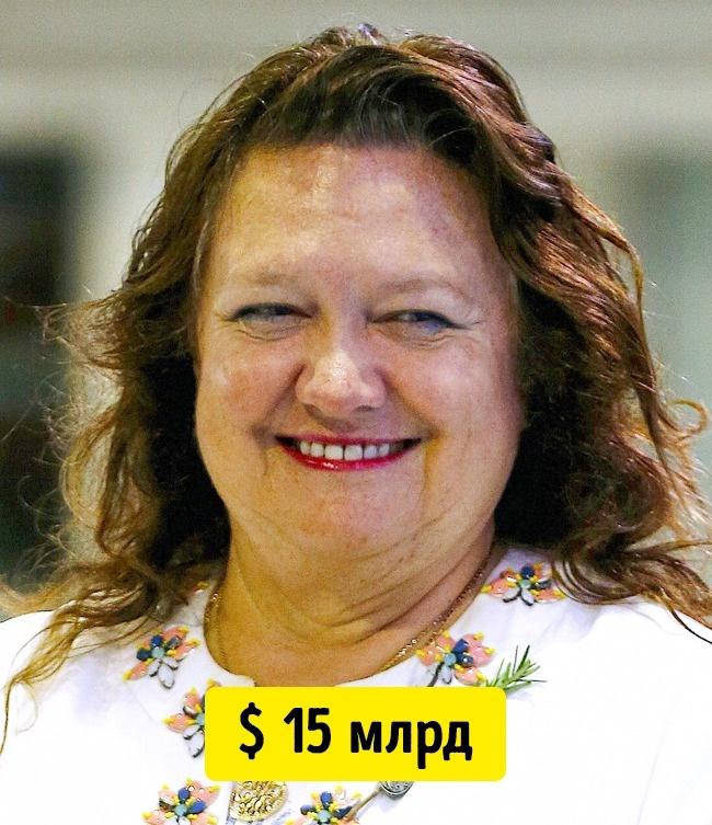 © reuters.com      Джина Райнхарт — самый богатый человек вАвстралии. Она владеет крупн