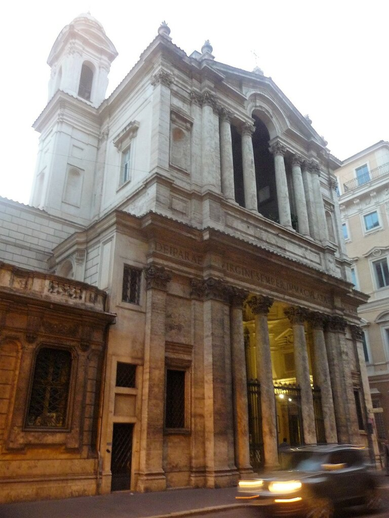 Chiesa  di Santa Maria in Via Lata  (11).JPG