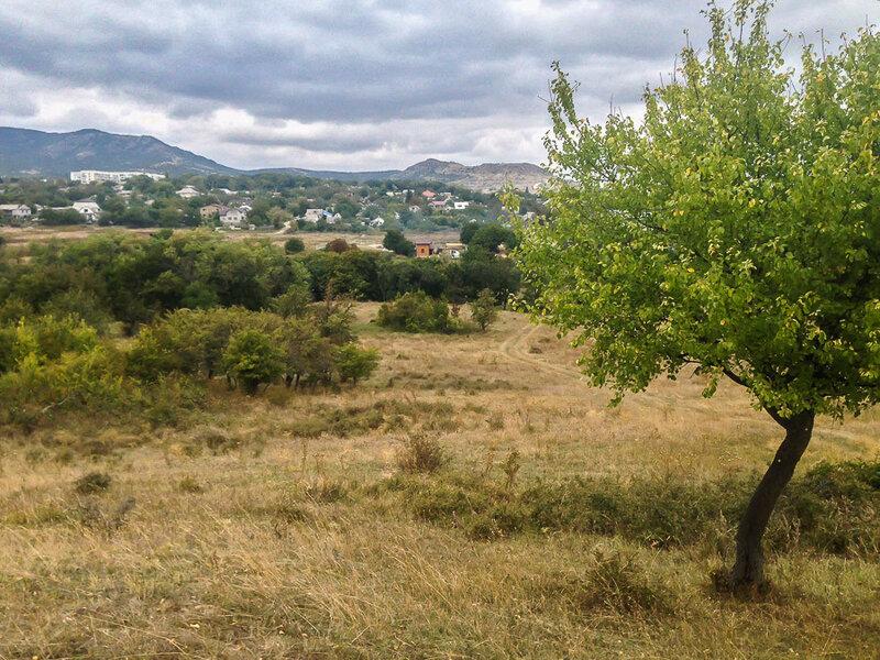 Старый Крым и гора Агармыш