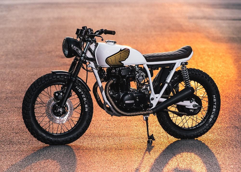 Federal Moto: стрит-трекер Honda CB360T