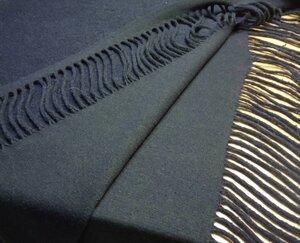 Пальтовая ткань 43-917, 650 р/м. на трикотажной основе, темно-синяя, бахрома с обеих кромок по всей длине ткани, мягкая, пластичная, для пошива кардигана, пончо, пальто Состав : 80 % шерсть , 20 % п/э Ширина 120 см Отрез 2,55 м.