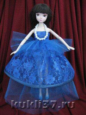вечернее платье Барби