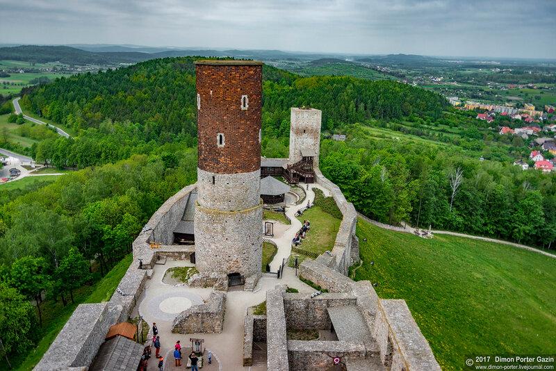 Хенцины. Хенцинский замок