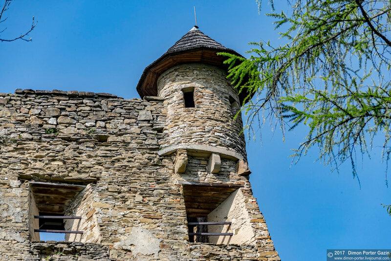 Стара Любовна. Замок Любовньянский Град