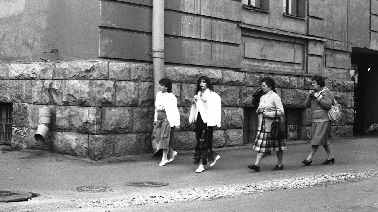 На Обводном. 1980-е.