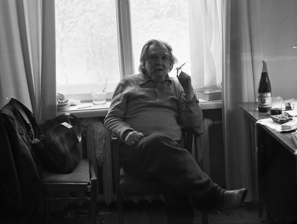 Поэт, переводчик Сергей Владимирович Петров
