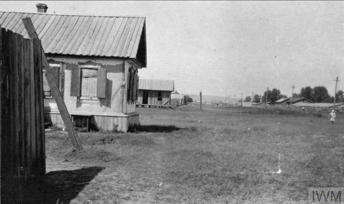 Улица в Царицыне, август 1919