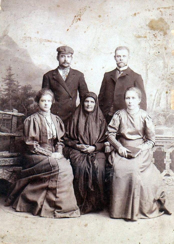 Семья Долгих. 1907