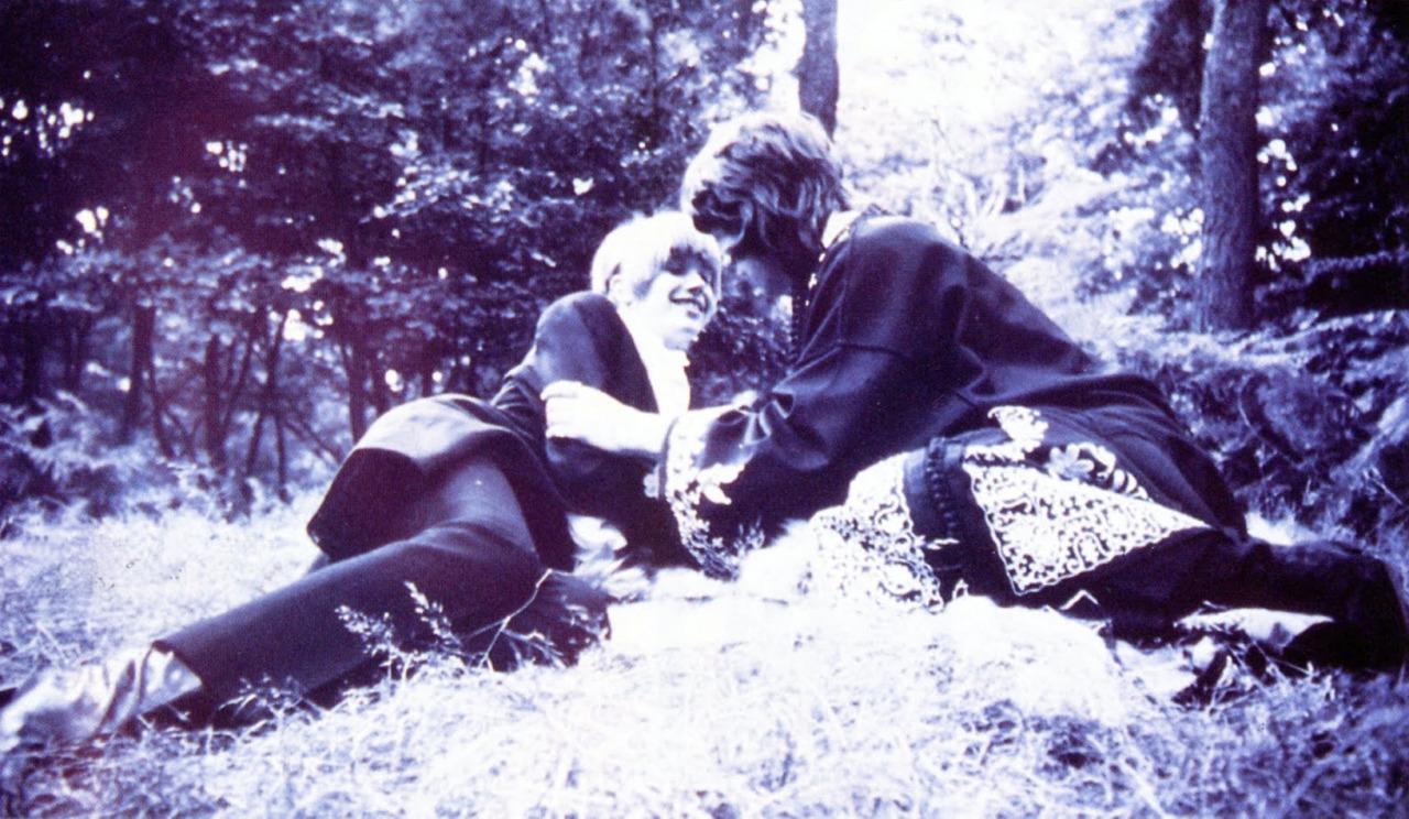 1967. Мик Джаггер и Марианна Фейтфулл
