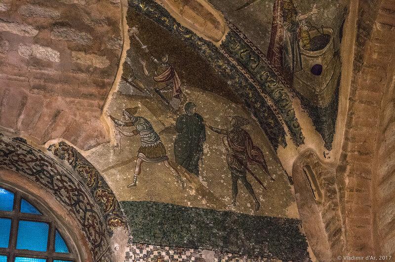 Избиение Младенцев. Мозаики и фрески монастыря Хора. Церковь Христа Спасителя в Полях.