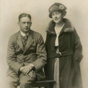фотография с первым мужем