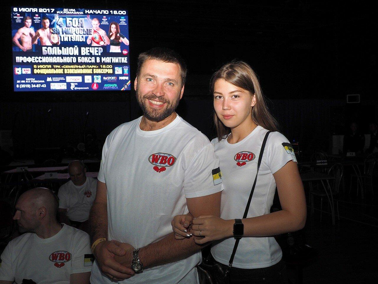 144 Вечер профессионального бокса в Магнитогорске 06.07.2017