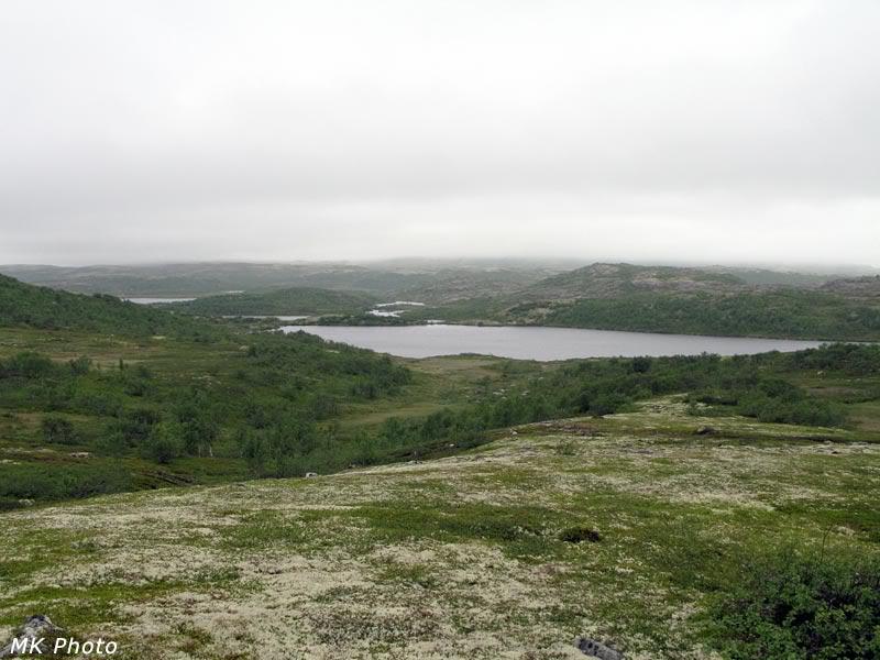 Безымянное озеро и Рунгозеро