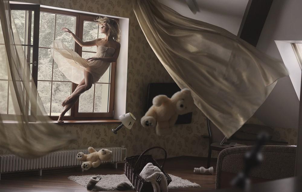 Левитация на снимках Равшании Азулэ