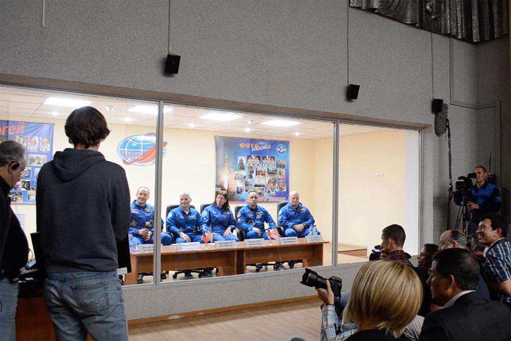 Просто космос какой-то! Встретились с космонавтами!