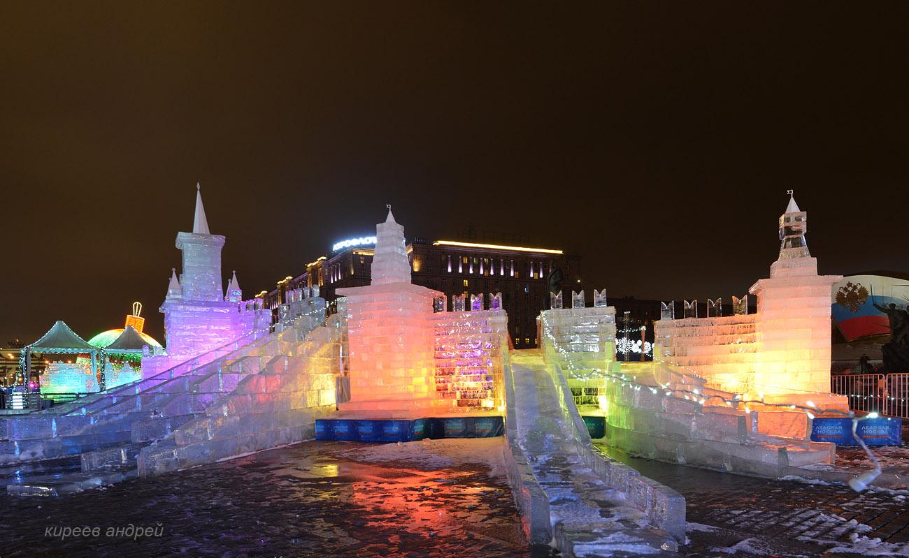 Поклонная гора ледяные скульптуры картинки