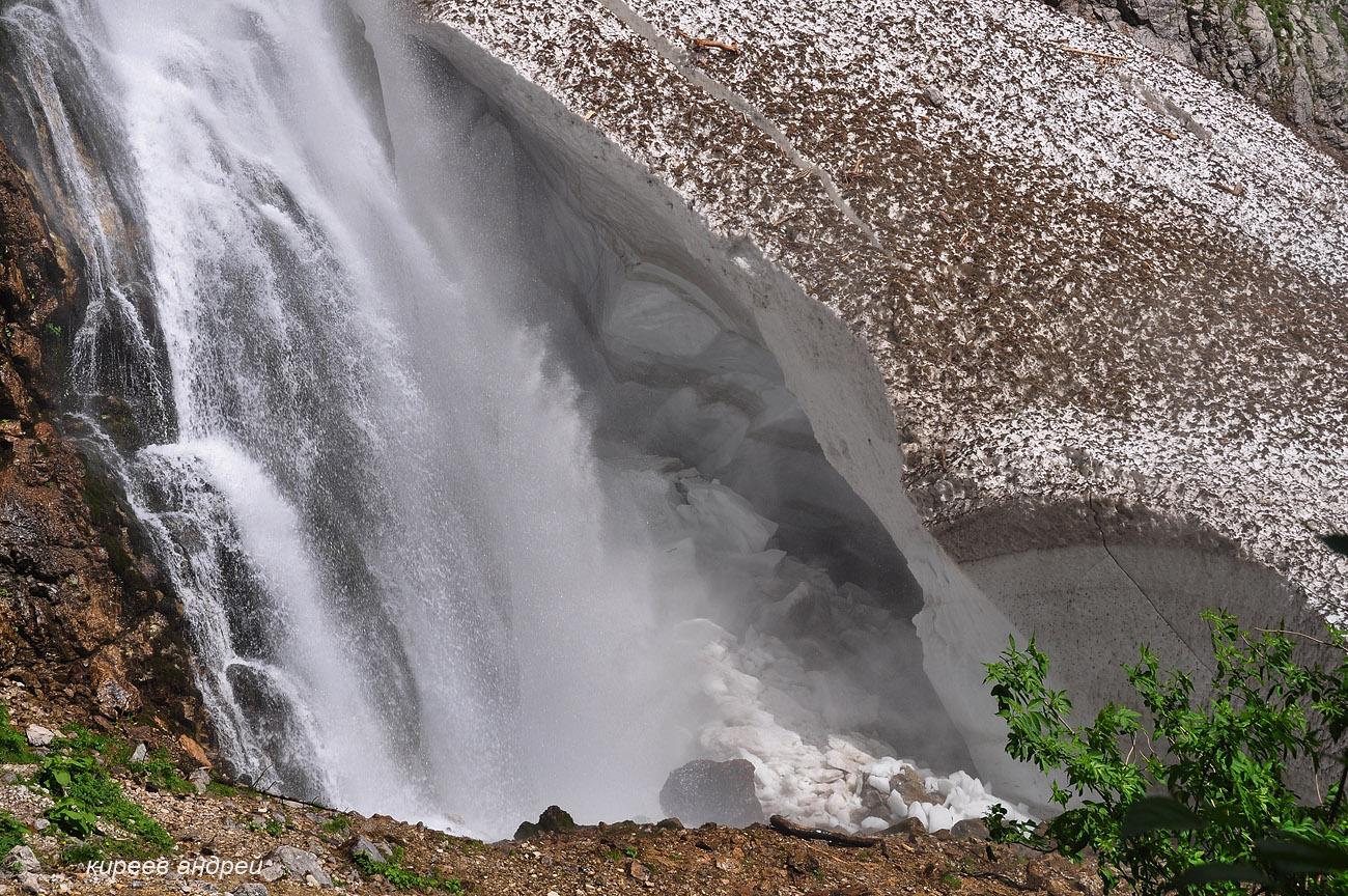 Гегский водопад.