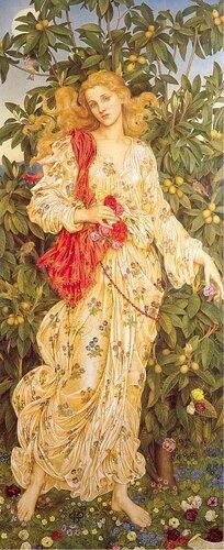 Evelyn de Morgan Flora