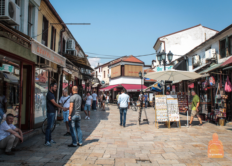 Старый город в Скопье