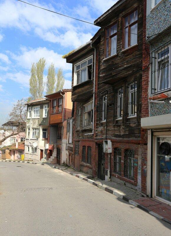 Istanbul, Ayvansaray. Quarter AirCap (Eğirkapı)