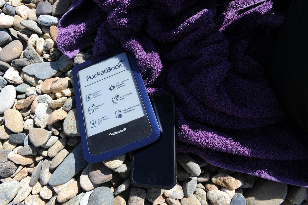 4. 6-дюймовый сенсорный E-Ink Pearl дисплей PocketBook 640 спроектирован на основе технологии Film T