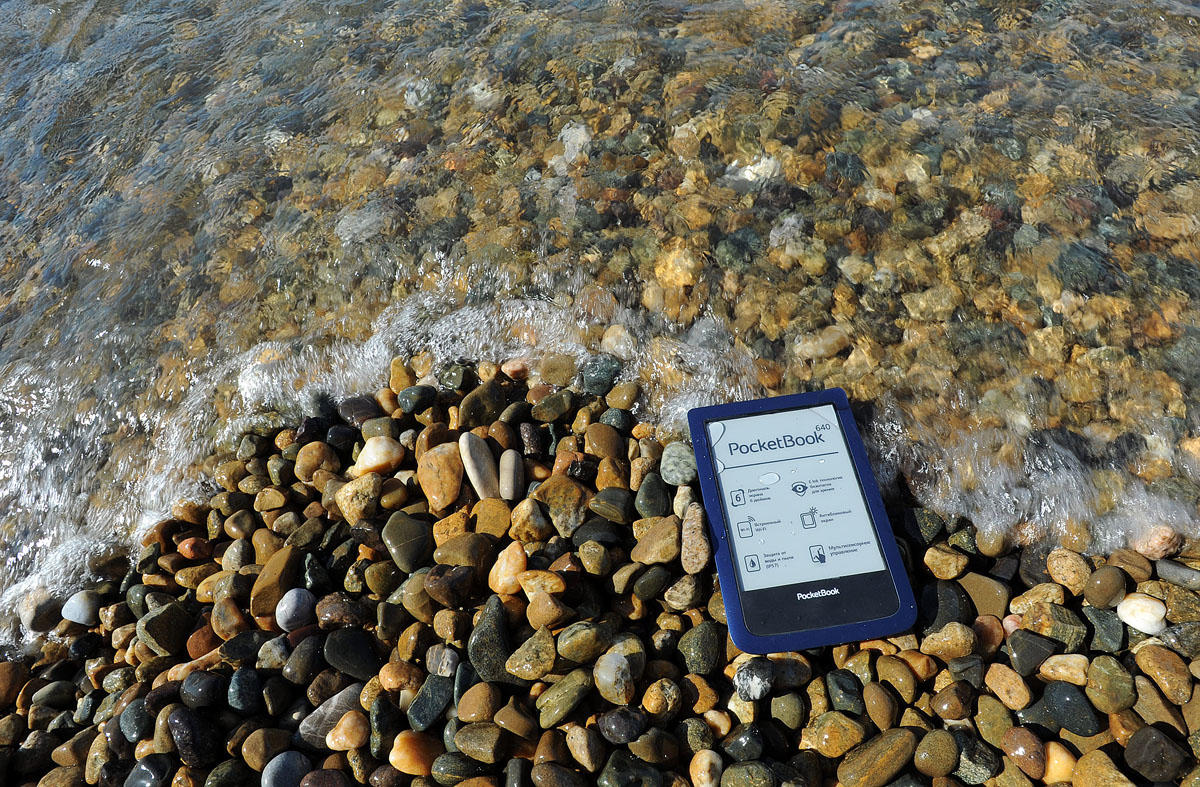 6. Сейчас на многих пляжах стал появляться Wi-Fi, который, между прочим, поддерживает данный ридер.