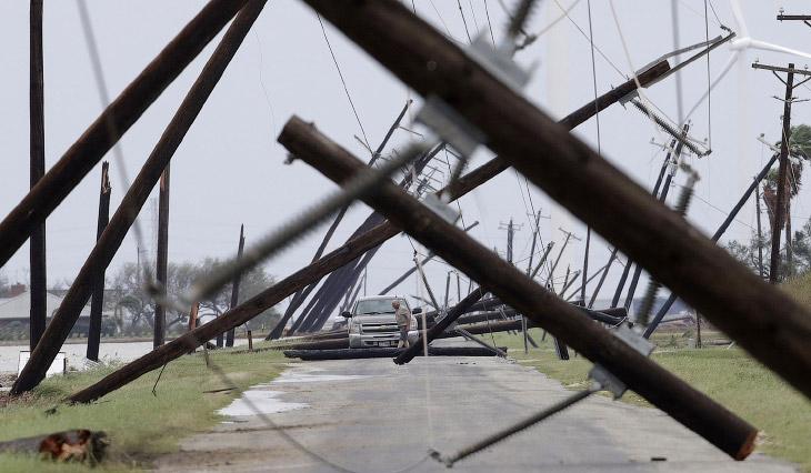 Раз в 500 лет: наводнение в Хьюстоне и ураган Харви (30 фото)