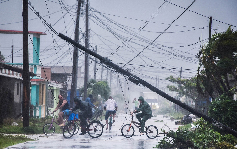 18. Улицы Гаваны, 9 сентября 2017. (Фото Yamil Lage):