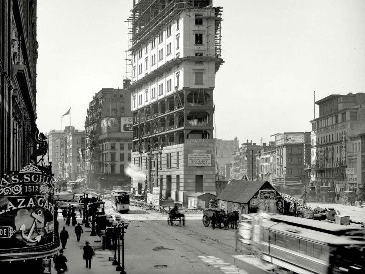 Так выглядела Таймс-сквер в 1903 году.