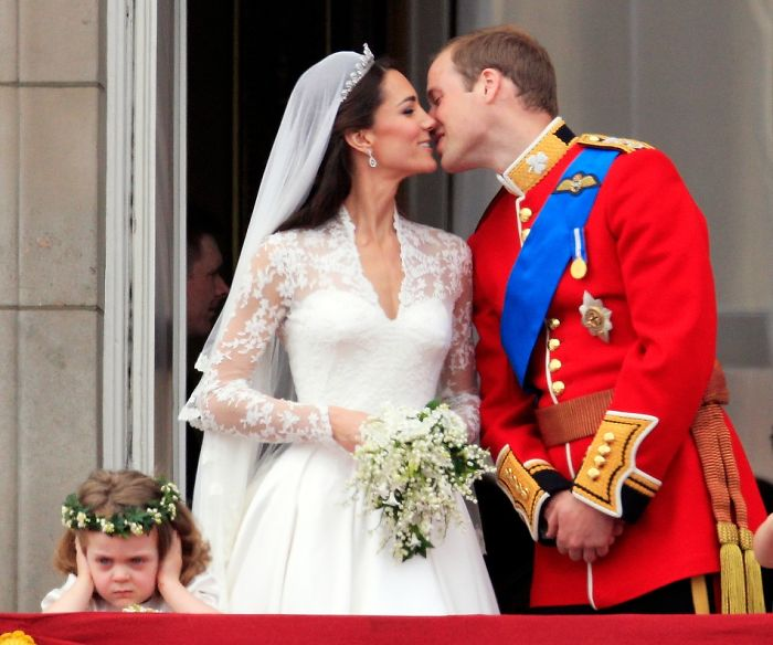 Звезда королевской свадьбы — «угрюмая девочка» Грейс ван Катсем .