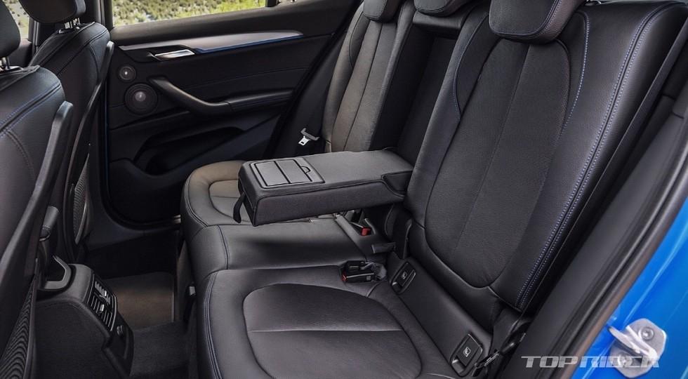 Первые фотографии серийного кроссовера BMW X2