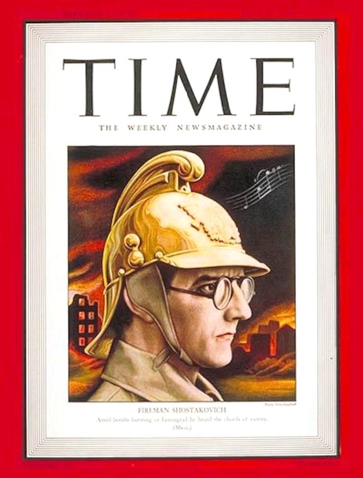 Фото 5 - Д. Шостакович на обложке журнала Time.jpg