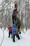 4 марта прихожане храма Новомучеников и исповедников Российских в Кучино отправились в лыжный экологический поход