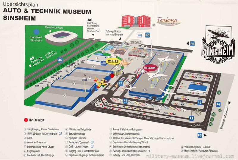 Музей техники в Зинсхайме