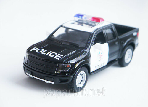 Kinsmart Ford F-150 SVT Raptor SuperCrew Police