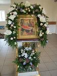 Флористы украсили Свято-Троицкий кафедральный собор к празднику Рождества Пресвятой Богородицы