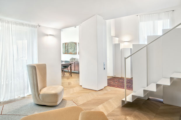 Discover The Family Apartment in Brianza by Bartoli Design