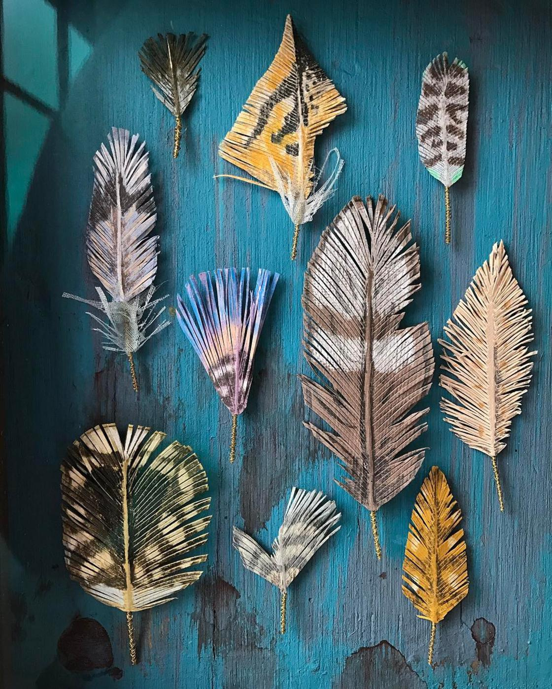 Paper Nature - The delicate paper creations of Woodlucker