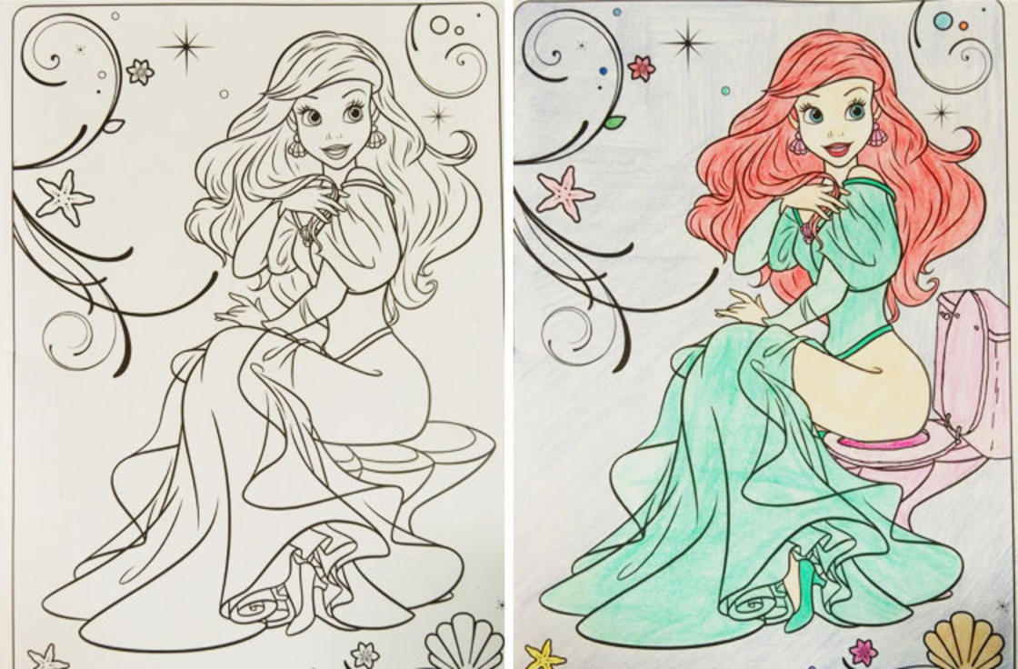 When adults play with children's coloring books (17 pics)