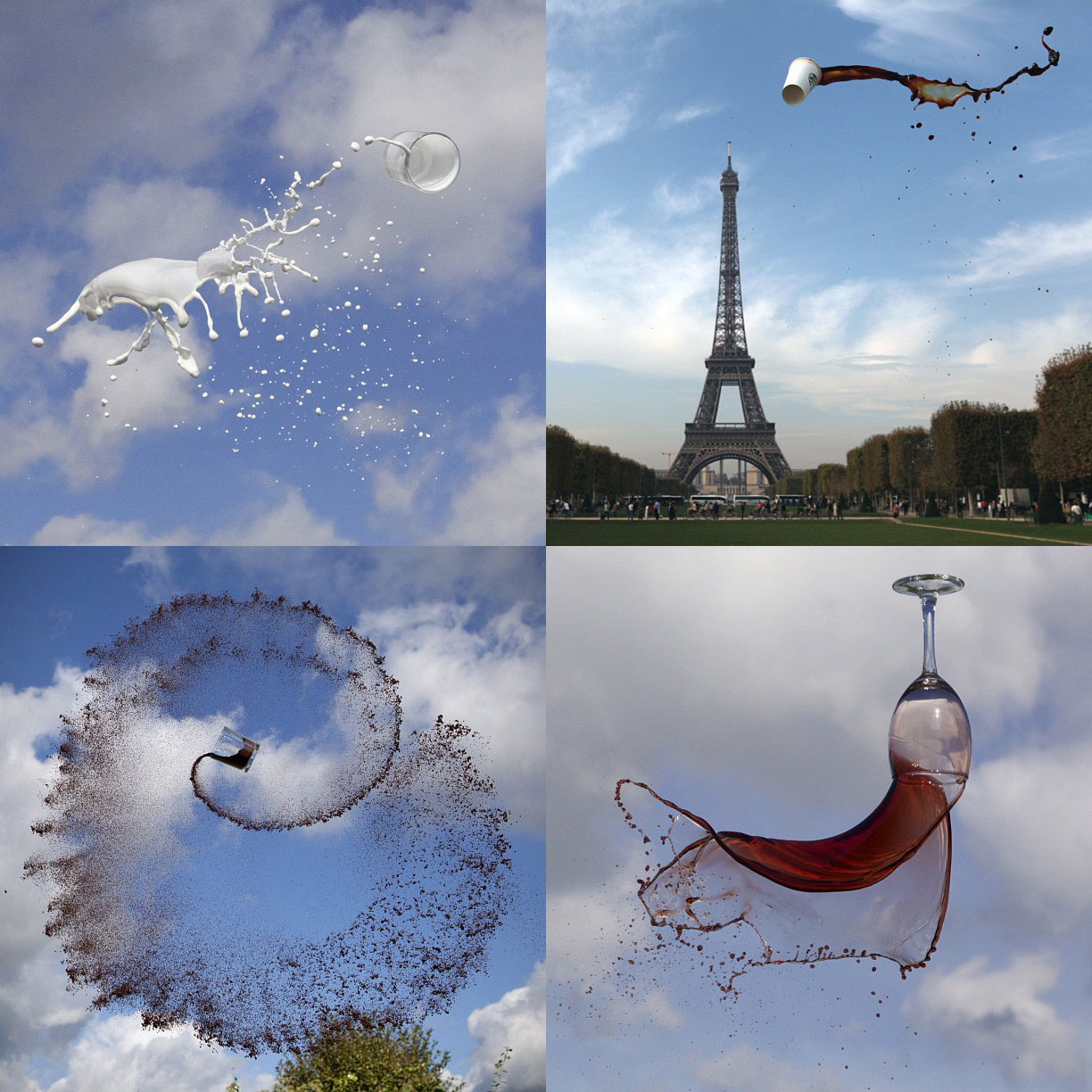 Manon Wethly's Instagram Photos of Airborne Beverages