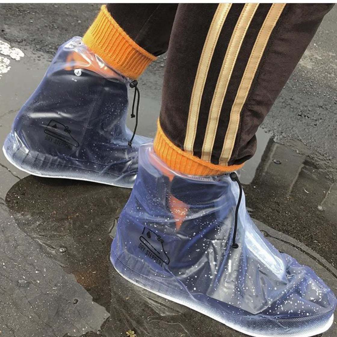 Dry Steppers - Some raincoats for your overpriced sneakers