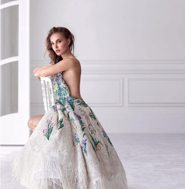 NATALIE PORTMAN Is Back In Her MISS DIOR Role!