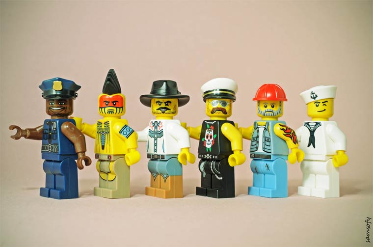 Legographie - When a photographer is having fun with his LEGO minifigs