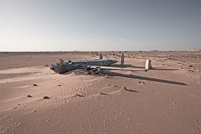 Passion is Rebel to Reason, Happy End #4.1, West Sahara, 2011 / Avro Shackleton Pelican, 25y SAAF, f
